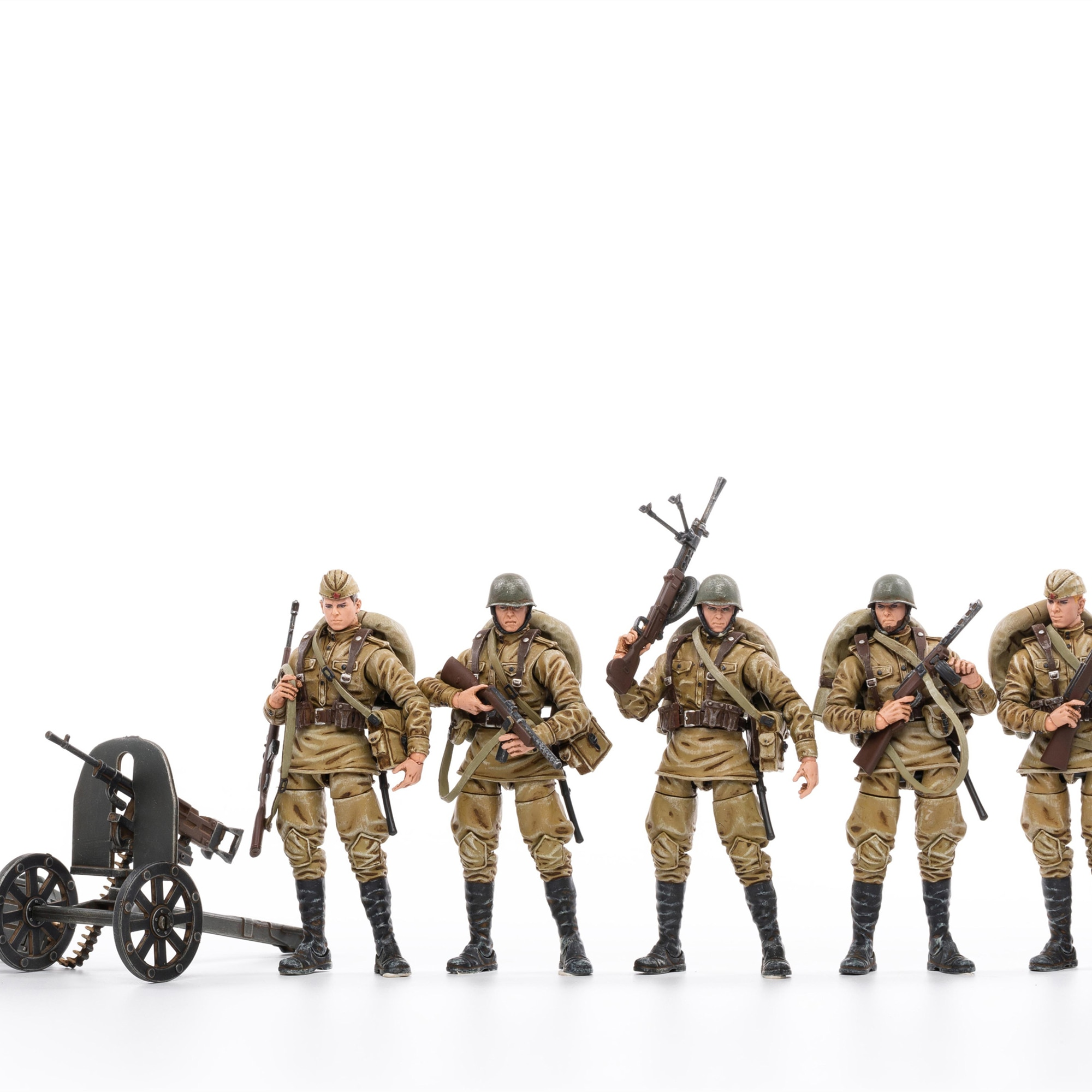 1/18 JOYTOY عمل الشكل الحرب العالمية الثانية السوفياتي المشاة الجندي تحصيل لعبة نموذج العسكرية هدية الكريسماس السفينة حرة