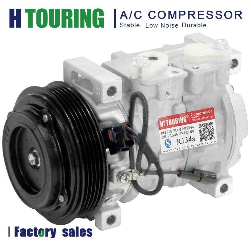 A/C Compressor & Clutch For Suzuki Aerio 2002-2007 447220-4580 447220-4581 4472204580 95200-65DE0 471-0390 471-1390 97340 10S13C