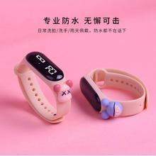 2021 Cartoon Children's Electronic Digital LED Display Watches Girls Boys Fashion Cute Watches W