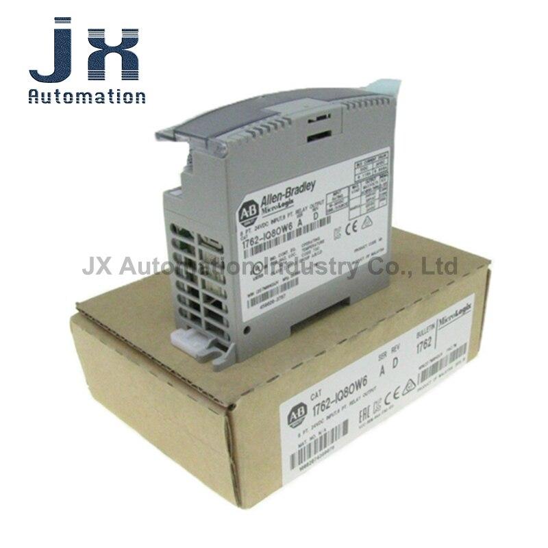 الأصلي AB PLC1762 MicroLogix 1200 نظام 1762-IQ8OW6 1762-OF4 1762-IF4 1762-OB32T التناظرية 24VDC مصدر الإخراج وحدة الإدخال
