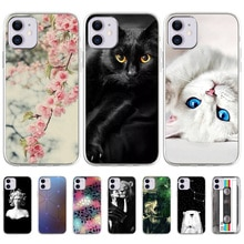Case For iPhone 11 Pro Max Case Soft TPU Silicone Cover iPhone 7 8 6 6s Plus Bumper Apple XR XS Max