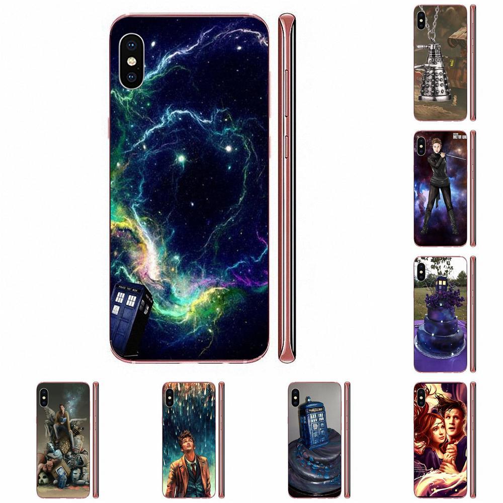 Nebulosa Tardis de Doctor Who Para LG G3 G4 G5 G6 G7 K4 K7 K8 K10 K40 K50 Q6 Q60 V10 V20 V30 V40 Nexus 5 5X 2017 suave cubre casos