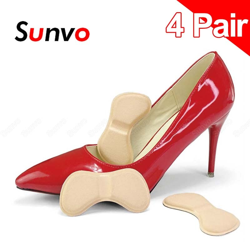 3 pairs lot disposable comfortable shoes insoles for men women white wood pulp soft inserts light palmilha for footwear 4 Pairs Soft Heel Liner Insoles Pad for Women High Heels Shoes Sticker Foot Pain Relief Feet Care Patch Cushion Grips Inserts