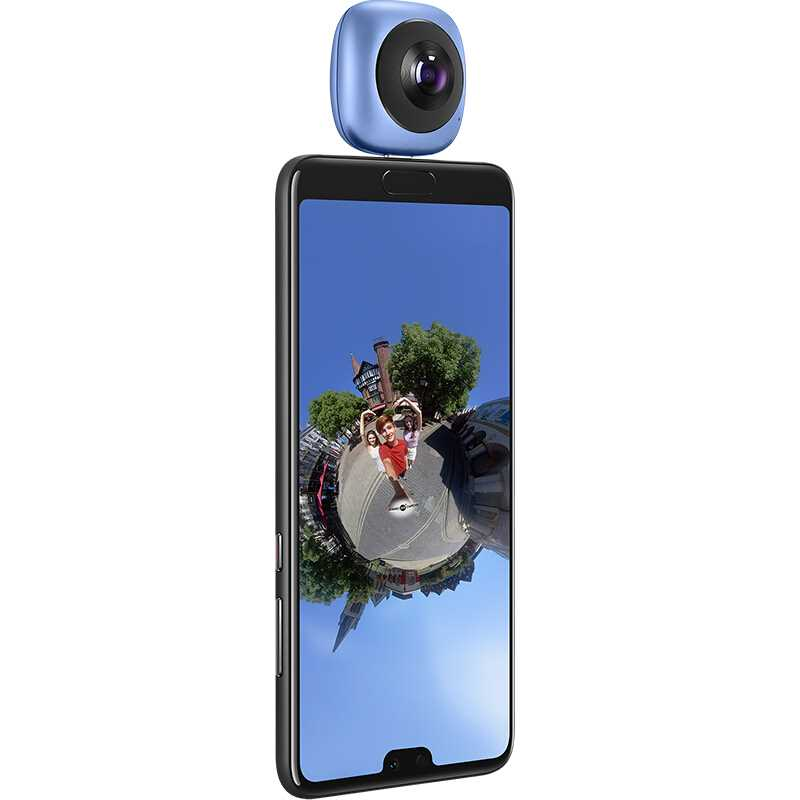 Get Huawei 360 Panoramic Video Camera Android Sports Envizion 3D Live Motion Wide Angle Lens HD VR Camera Mobile Phone External