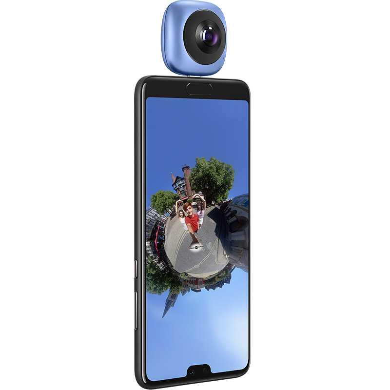 Huawei-كاميرا فيديو بانورامية ثلاثية الأبعاد ، كاميرا HD VR مع عدسة بزاوية عريضة ، لهواتف Android والرياضة ، الإصدار الخارجي ، 360