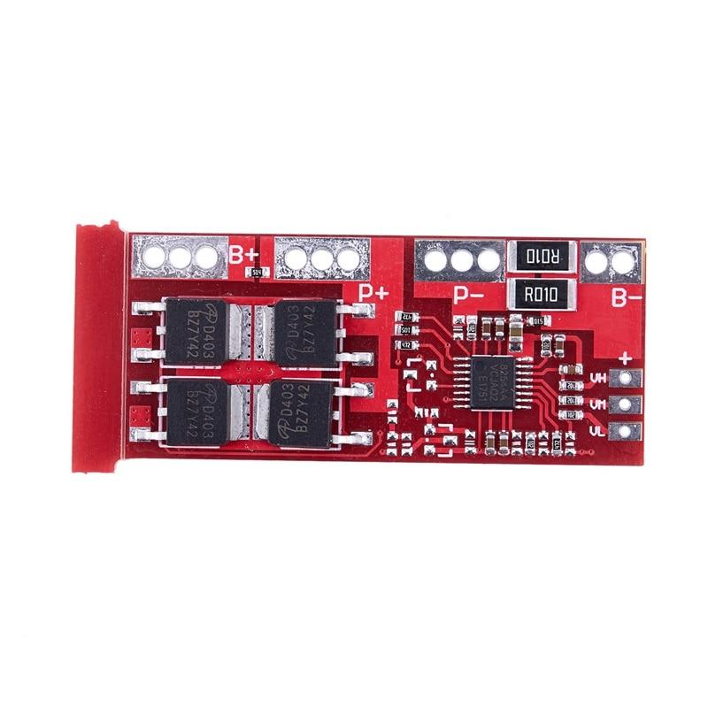 4S batería de litio Li-ion 18650 Placa de protección del cargador 15A 14,4 V 14,8 V 16,8 V