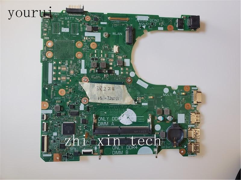Yourui لديل 3468 3568 اللوحة الأم CN-02HKXD 02HKXD 2HKXD مع i5-7200u اختبار كامل موافق