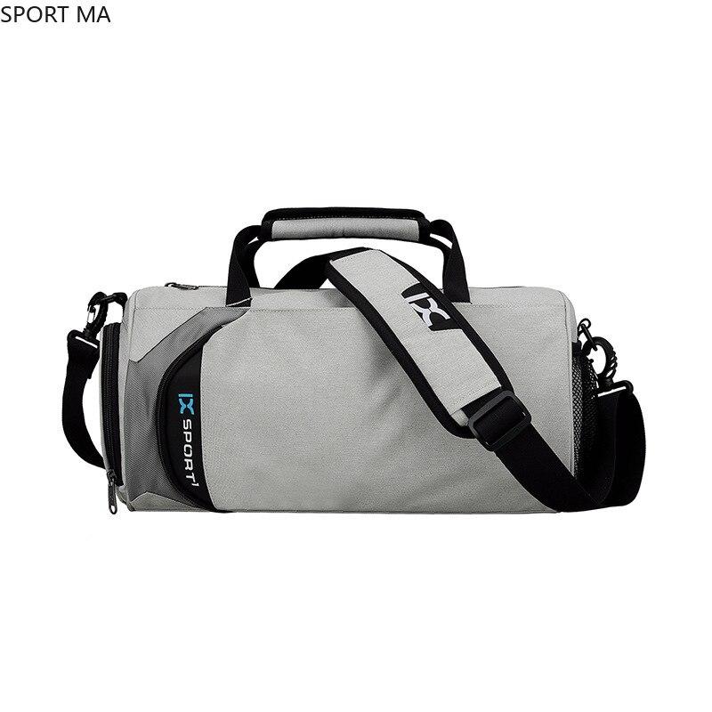 Мужская сухая влажная спортивная сумка для мужчин, черные вместительные спортивные сумки для женщин, фитнесс, дорожная сумка через плечо 8068...