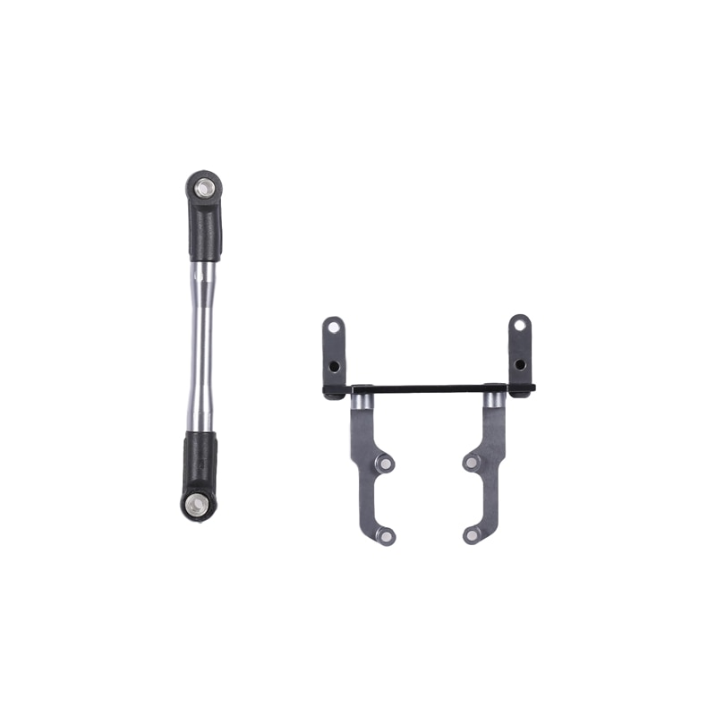 Metal Axle Servo Base Stand with Steering Link Rod For 1/10 RC Crawler Axial SCX10 II 90046 AR44 Axle enlarge