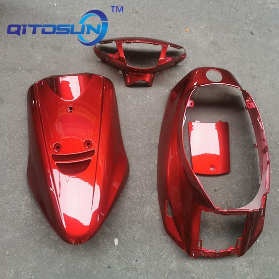 For JOG(50) 3KJ ABS Plastic motorcycle Front cover Light box Side cover Motorcycle Accessories