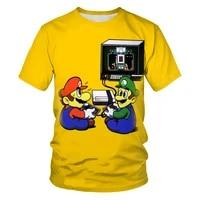 cartoon comedy 3d printing fashion mens and womens t shirts soft texture hip hop mens clothing t shirts for men