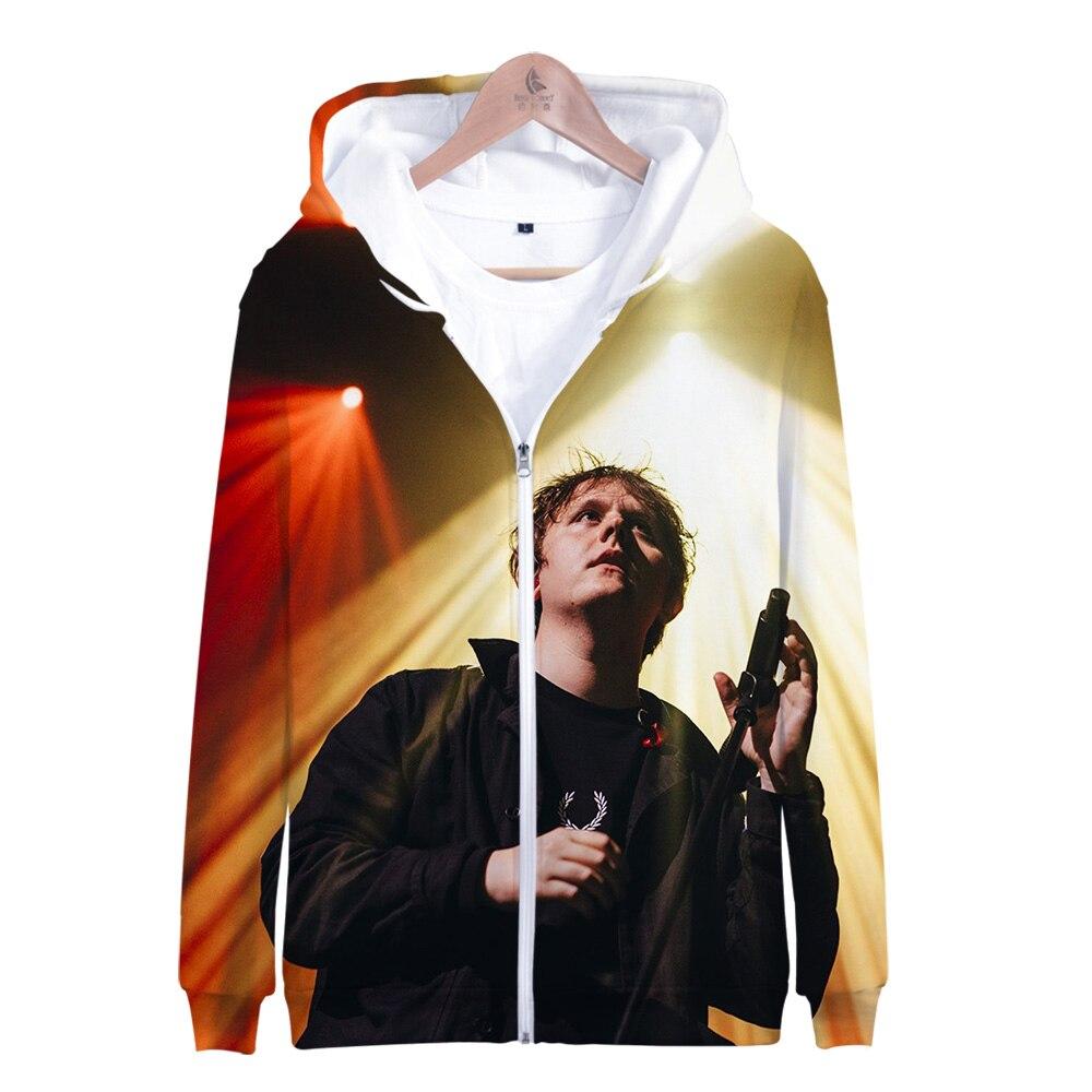 2019 Lewis Capaldi Zipper Hoodie 3D Print Cap Hoodies Sweatshirts Men/Women Harajuku  Lewis Capaldi Zipper Hooded Coats