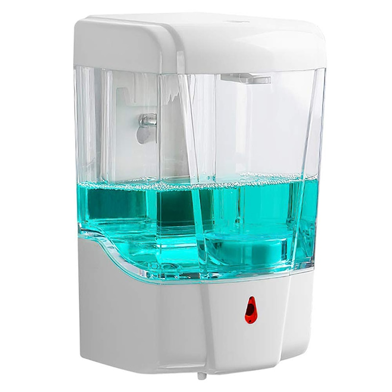 Soap Dispenser 700ml Automatic Touchless Sensor Hand Sanitizer Detergent Liquid Soap Dispenser Wall Mounted for Bathroom Kitchen itas5538 automatic liquid soap dispenser waterproof free touch abs gel hand sanitizer kitchen bathroom kindergarten
