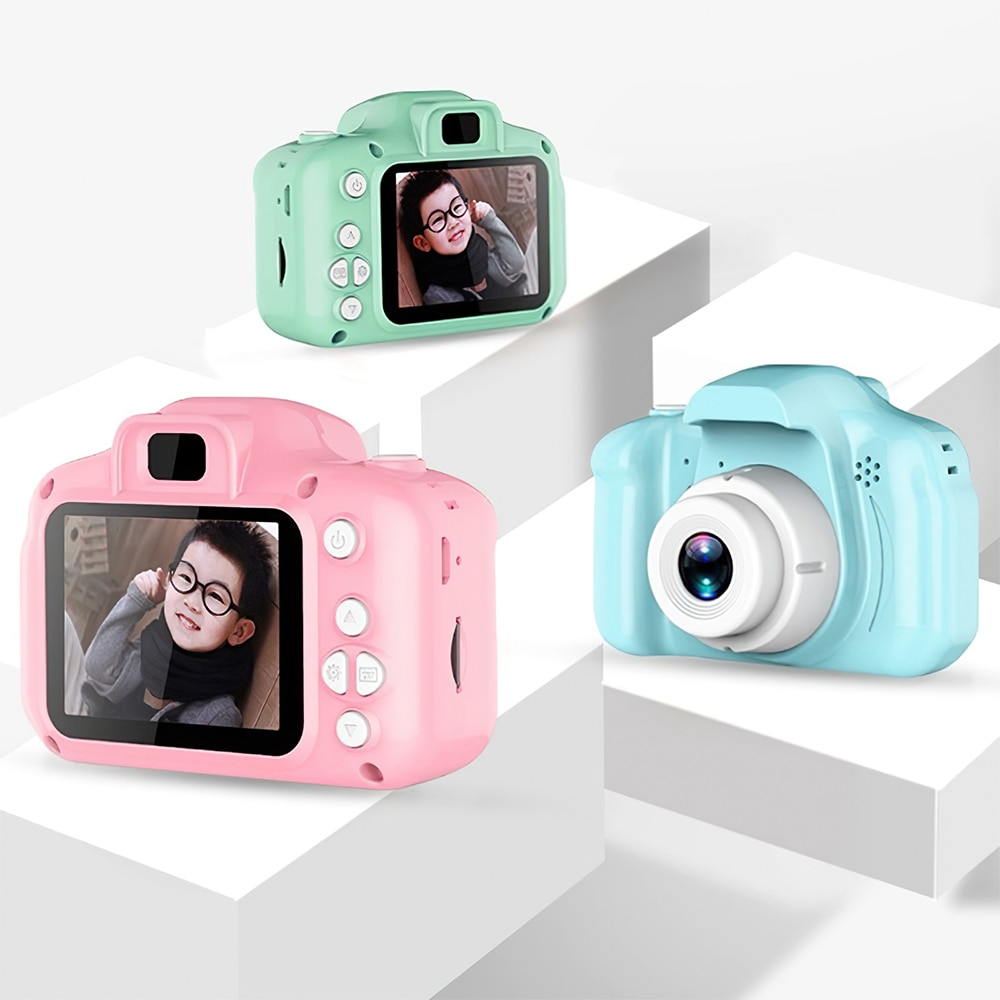 Children's Camera Mini Educational Toys For Kids Baby Gifts 1080P Digital Camera Projection Video Ca