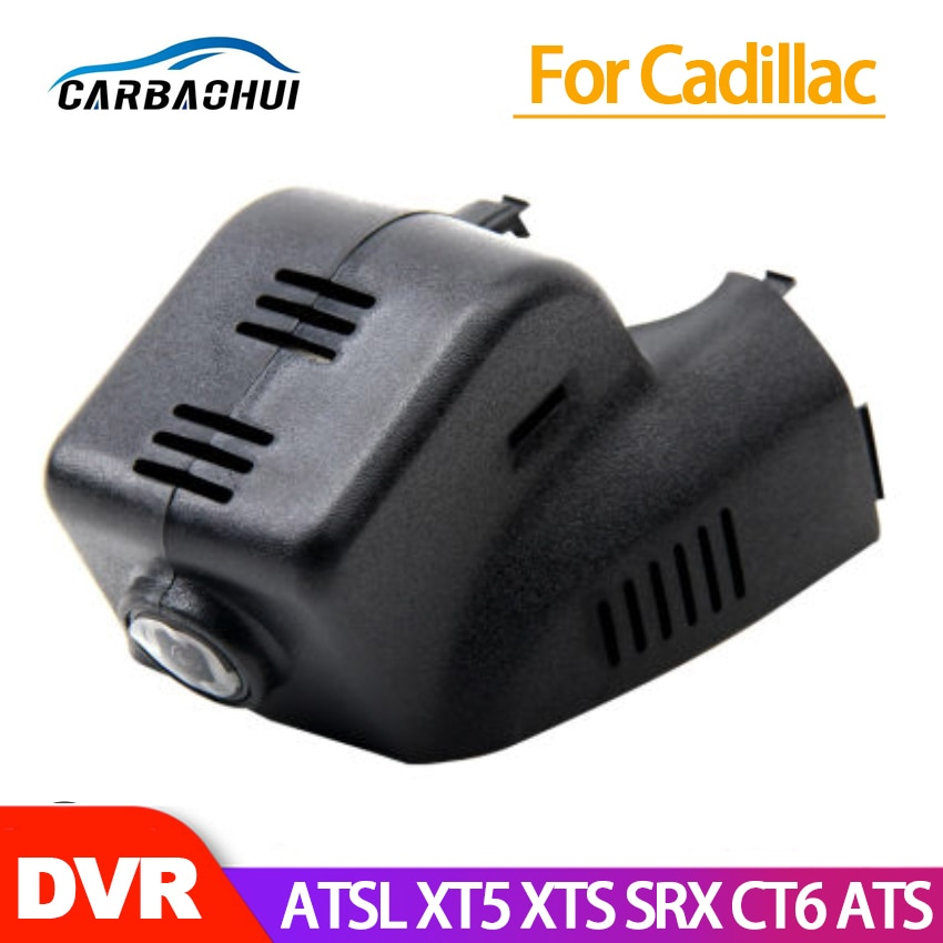 Cámara de salpicadero DVR Wifi para coche, cámara para Cadillac ATSL XT5 XTS SRX CT6 ATS 2014 2015 2016 2017 2018 de alta calidad full hd