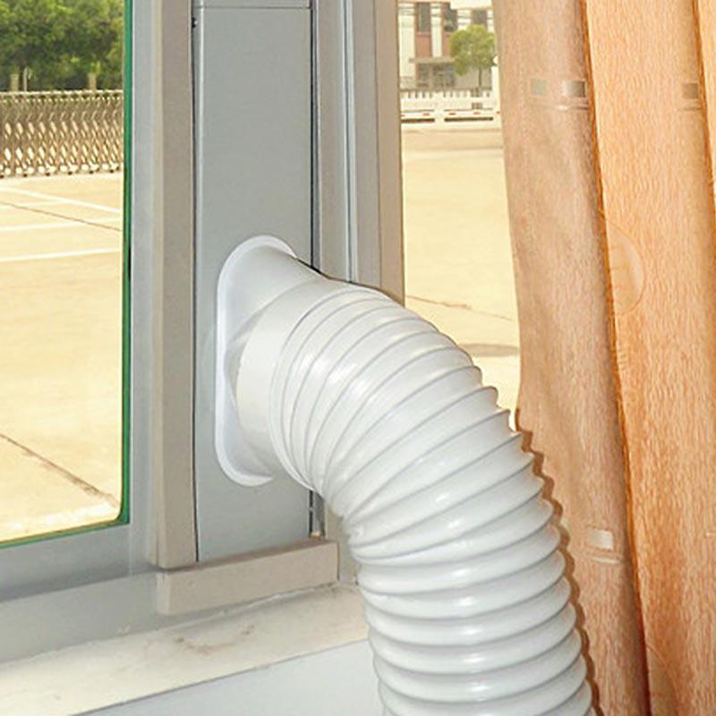 3Pcs Fenster Rutsche Kit Platte, Fenster Vent Adapter, fenster Rutsche Kit Platte Fenster Adapter Hände Werkzeug für Tragbare Klimaanlage