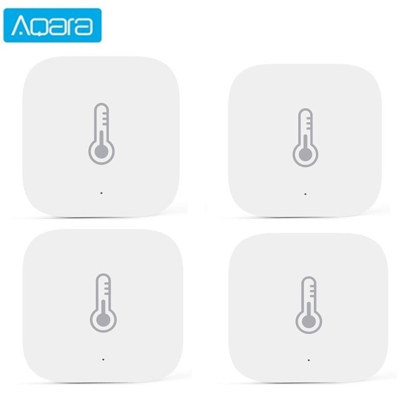 Aqara Temperature Sensor Smart Air Pressure Humidity Environment Sensor Smart control Zigbee connection For xiaomi APP Mi home
