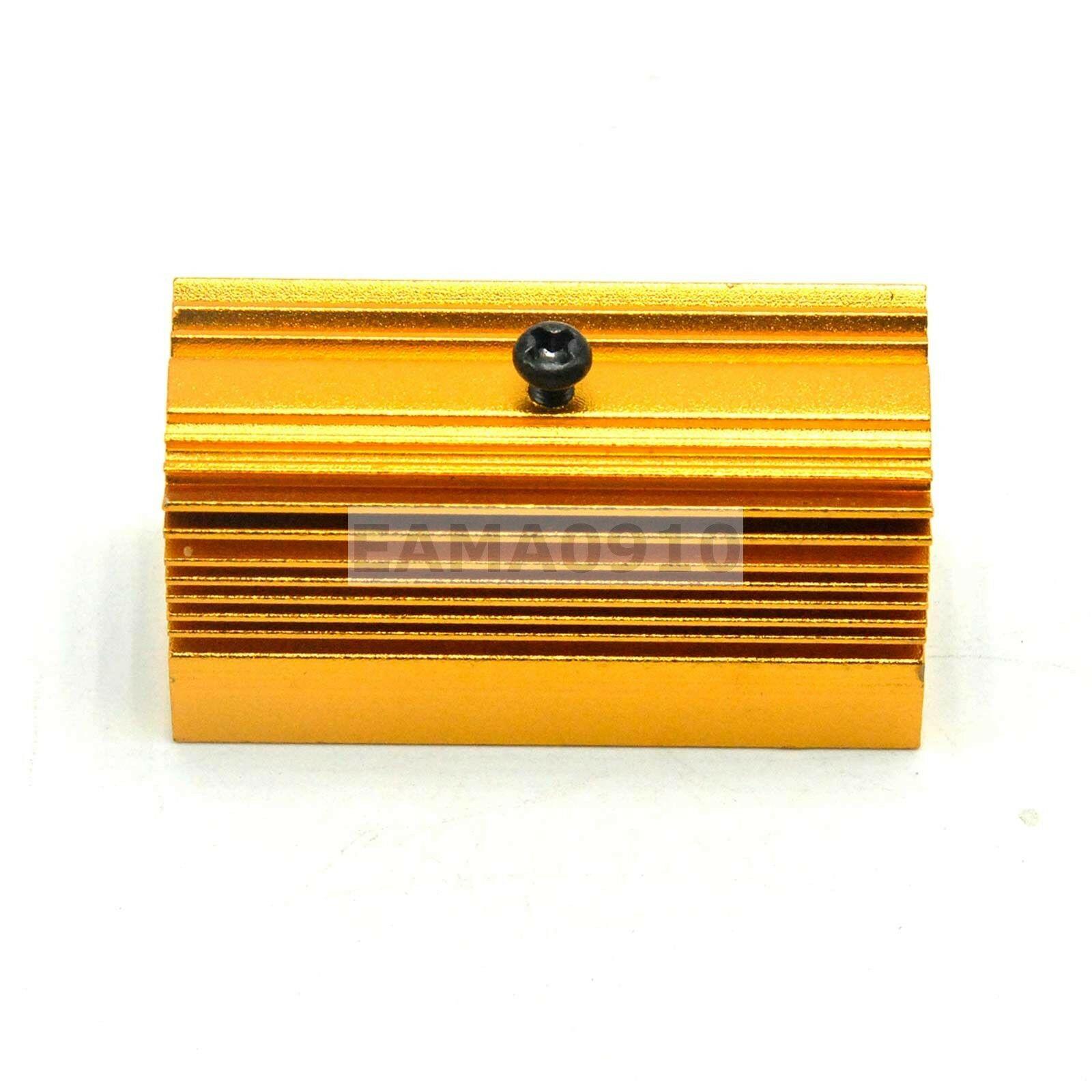 Алюминий радиатор радиатор 20x27x50 мм для 12 мм лазер модуль золотой цвет