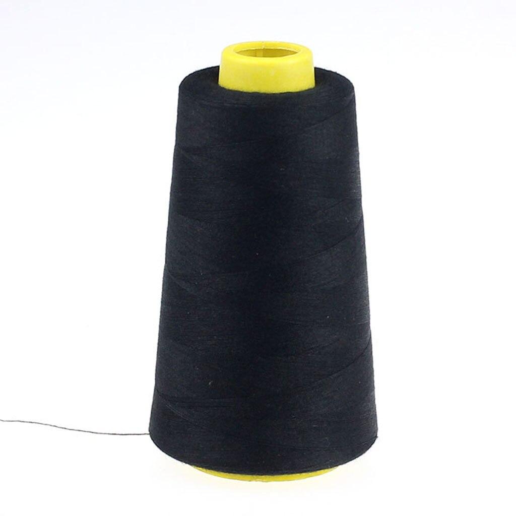 Hilo de coser de poliéster de Color para el hogar, hilo de Pagoda, 1 pieza, 2300 yardas, cuerda de hilo, hilos de costura para ropa artesanal