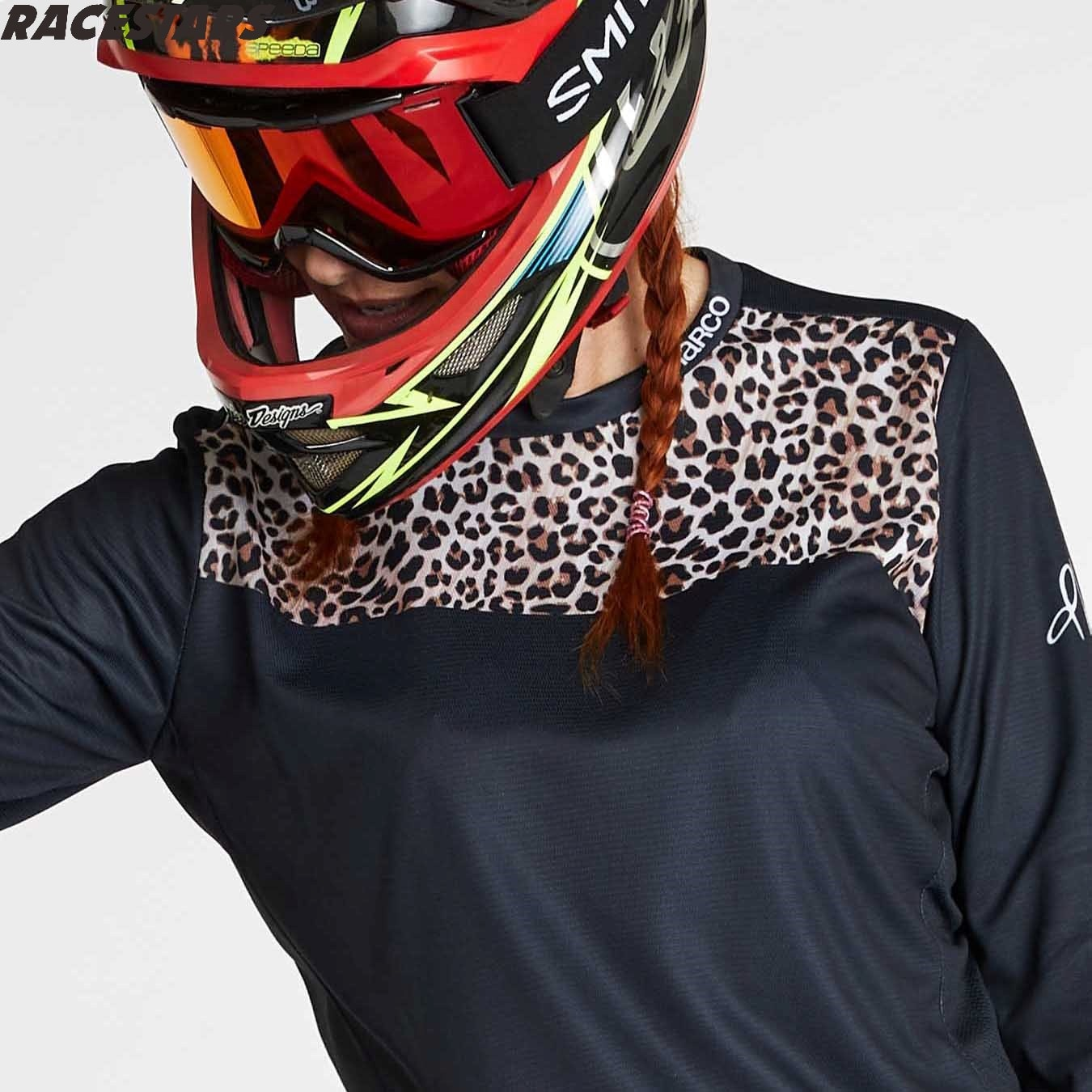 DHARCO-Camiseta de Enduro de montaña para mujer, camiseta de Motocross MTB, camiseta...