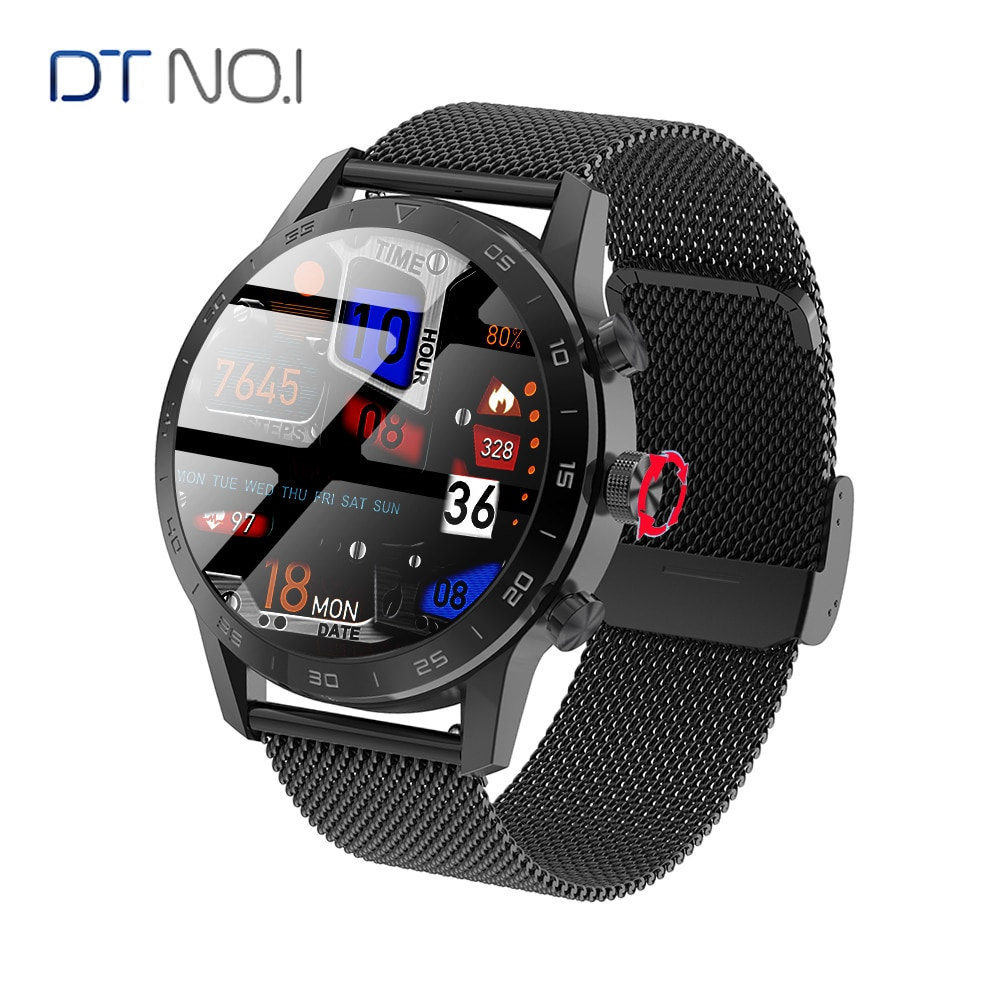 KK70 ساعة ذكية للرجال 454*454 HD شاشة مكالمة هاتفية شاحن لاسلكي زر دوار IP68 مقاوم للماء الموسيقى تلعب ECG Smartwatch