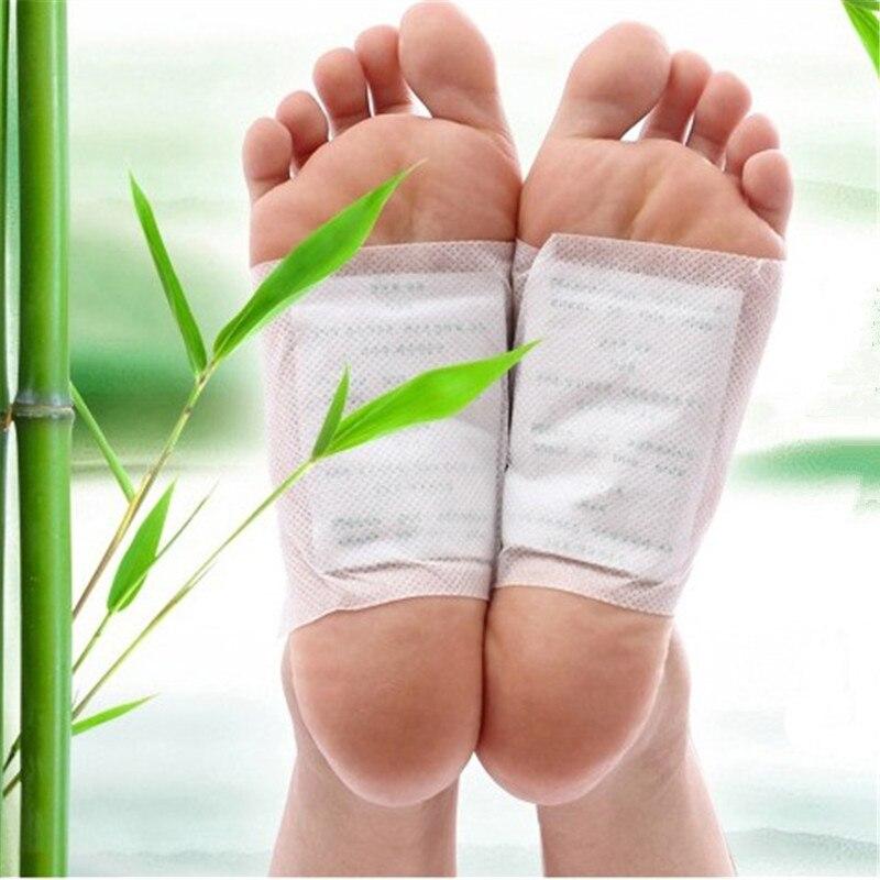 20 pièces =(10 pièces patchs + 10 pièces adhésifs) patch Detox médical pour les pieds