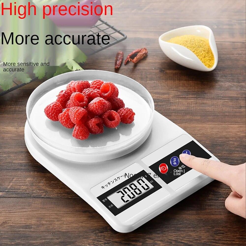 Кухонные электронные весы для хлебобулочных изделий, домашние маленькие электронные весы 0,1 г, пищевые весы, маленькие кухонные весы для вы...