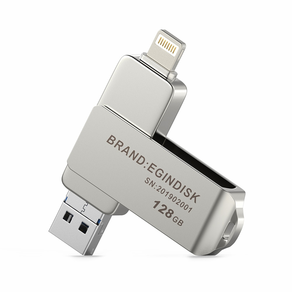 Otg USB Flash Drive For iPhone / iPad / Android Phone 3 in 1 Usb 3.0 Pendrive with USB / Micro USB / Lightning Flash Disk