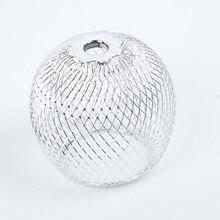 Marroquino bola redonda luzes de teto sombra lustre acessórios sala abajur au