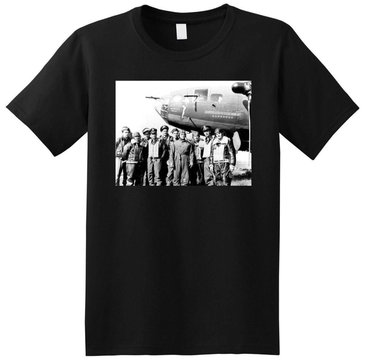 MEMPHIS BELLE b-17 bomber weltkrieg 2 ii foto t KLEINE MEDIUM LARGE oder XL Herren T Shirt Sommer O neck 100% Baumwolle Männer Kurze