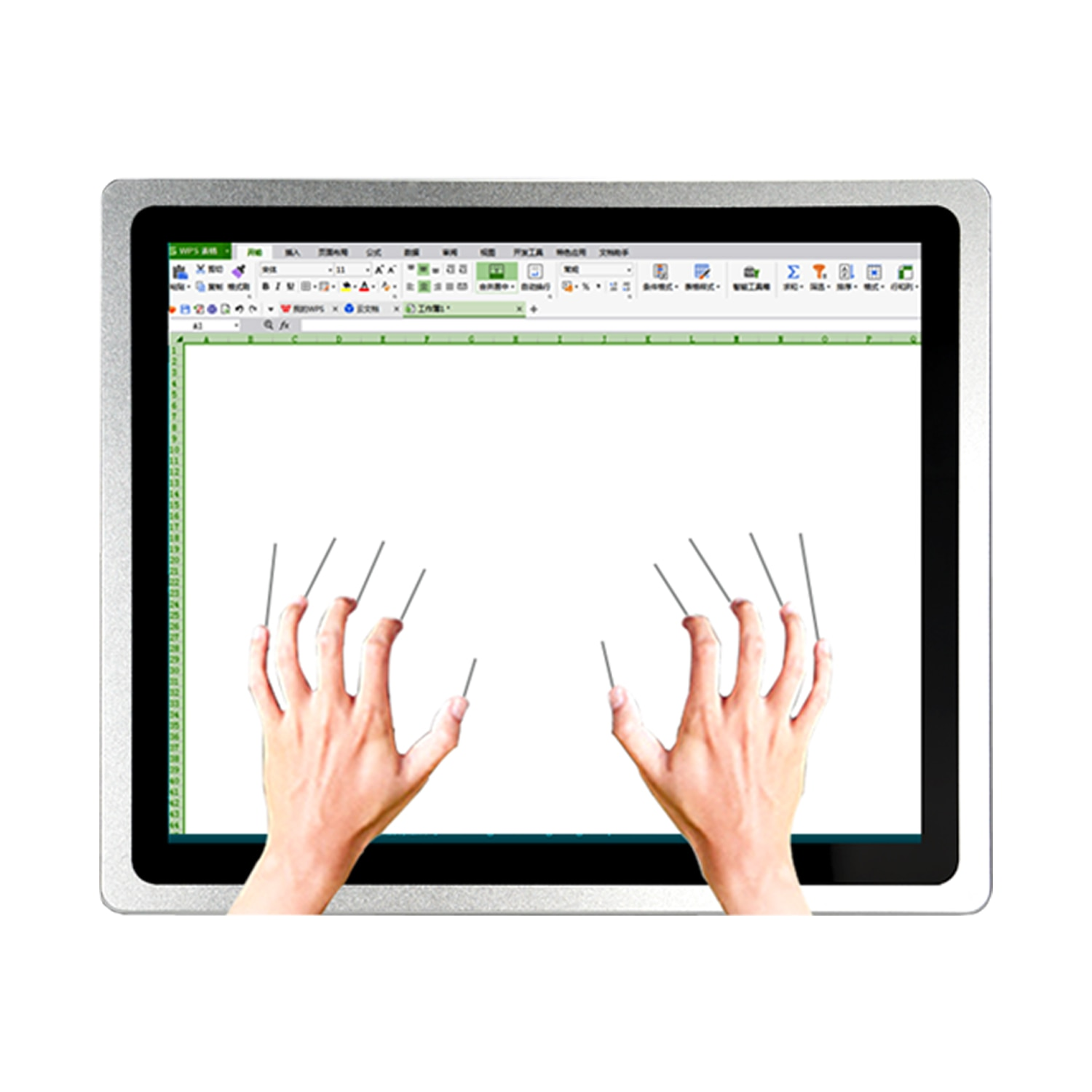 21.5 Inch Industrial Panel Mini all-in-one PC 19