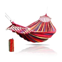 portable hanging hammock outdoor camping swing chair indoor bedroom hammock lazy chair travel portable thick canvas bed hammocks