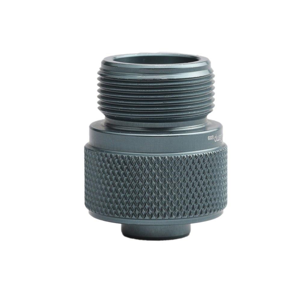 "3.3cm Adaptor CGA600 to 7/16""-28UNF for Braze Welding Torch MAPP Propane Gas Torch Heating Solder  adaptor Catridge"