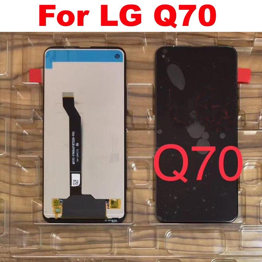"""Mejor funcionamiento Pantalla LCD con Panel táctil Montaje del digitalizador de Pantalla para LG Q70 LM-Q620WA LM-Q730N 6,4 """"Teléfono de vidrio de Pantalla"""