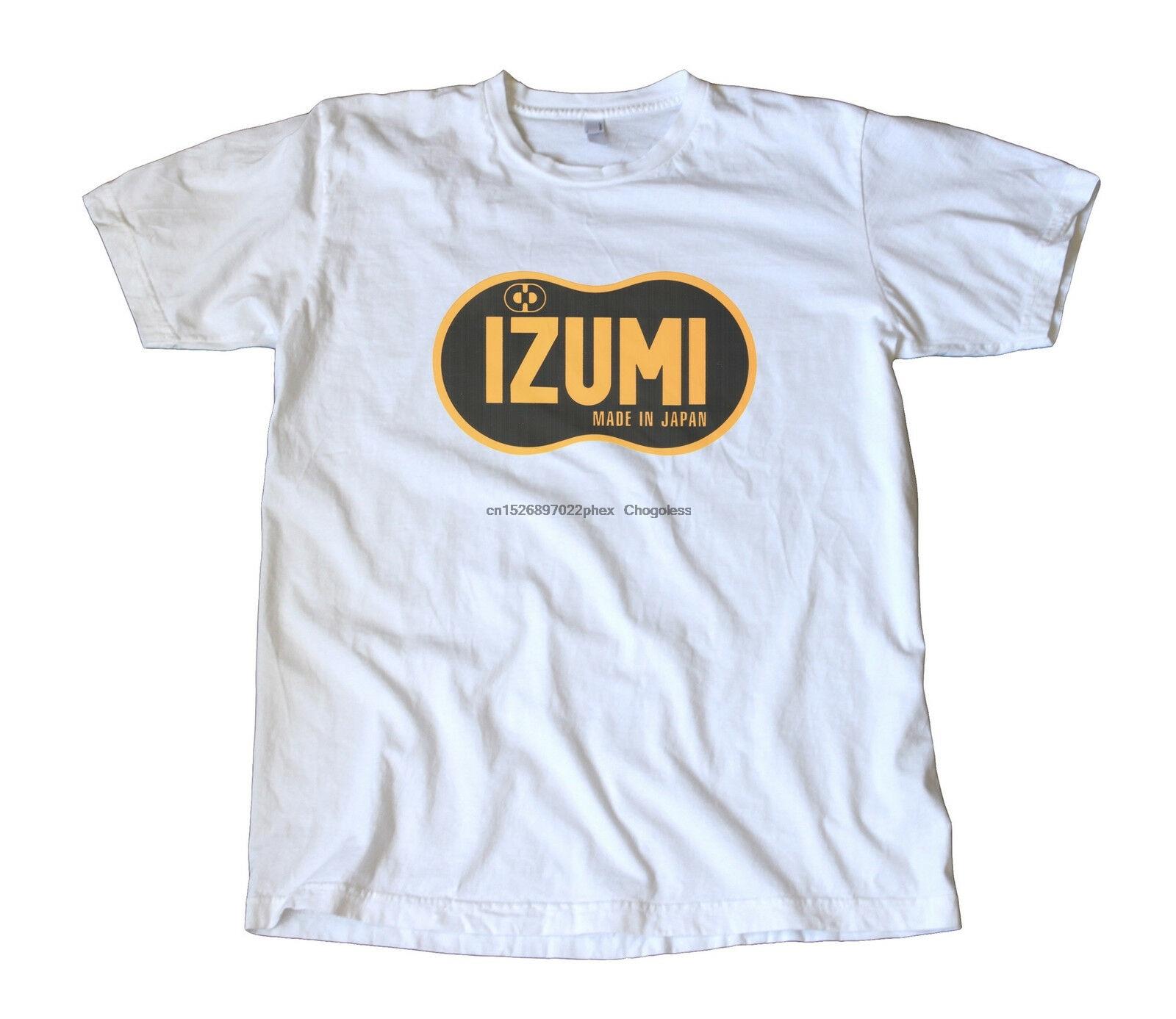 Clássico izumi feito no japão logotipo camiseta-ciclismo fixie track racing campy
