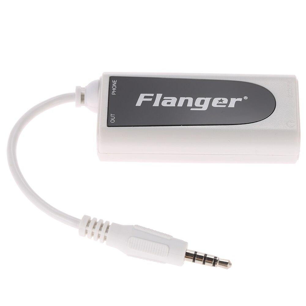 Adaptador convertidor de Fc-21Music, pequeño y exquisito, guitarra blanca, bajo, para Android,...