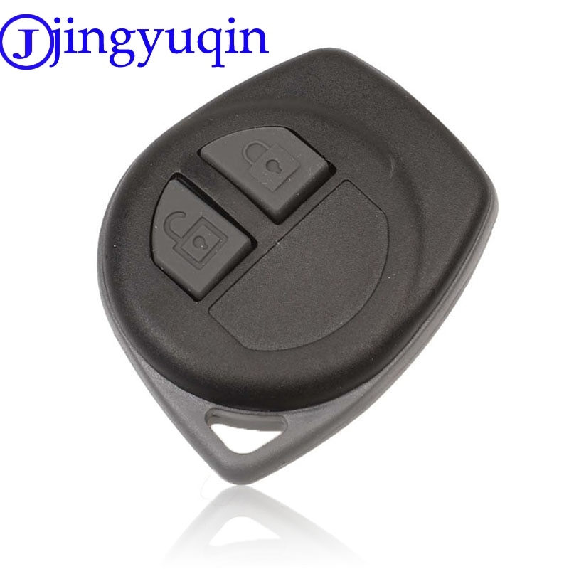 jingyuqin 2B Remote Car Key Shell Case Cover Fob For Suzuki Igins Alto SX4 Vauxhall Agila 2005-2010