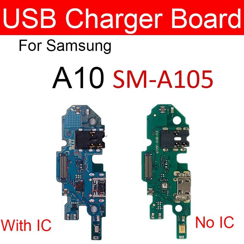 Chargeur prise USB carte de quai pour Samsung Galaxy A10 SM-A105FD A105FD Module de Port de charge