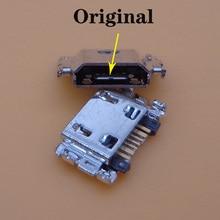 Port de charge micro   200 pièces/lot, port de charge, prise de courant, pour Samsung Galaxy Tab A 8