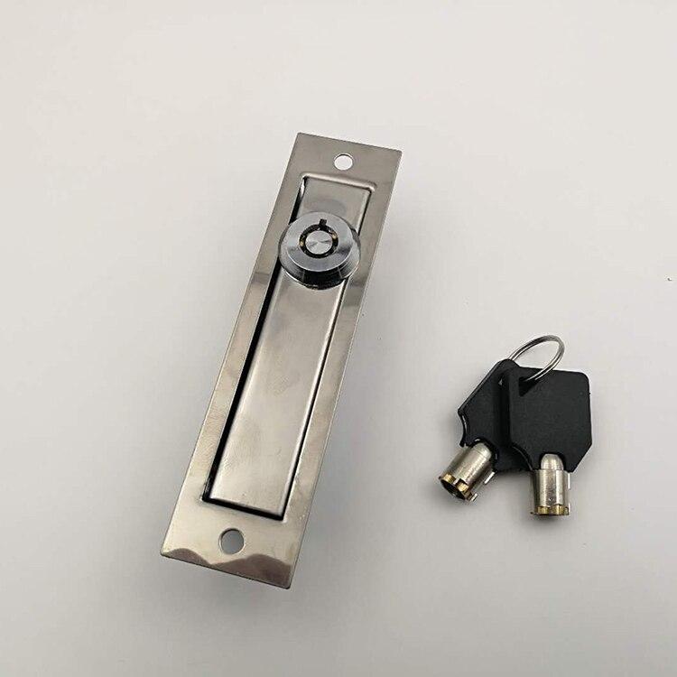 Cerradura de la ranura de la Guía de la rejilla de la puerta del estilo europeo para la cerradura manual de la puerta del obturador cerradura de emergencia de la puerta del garaje