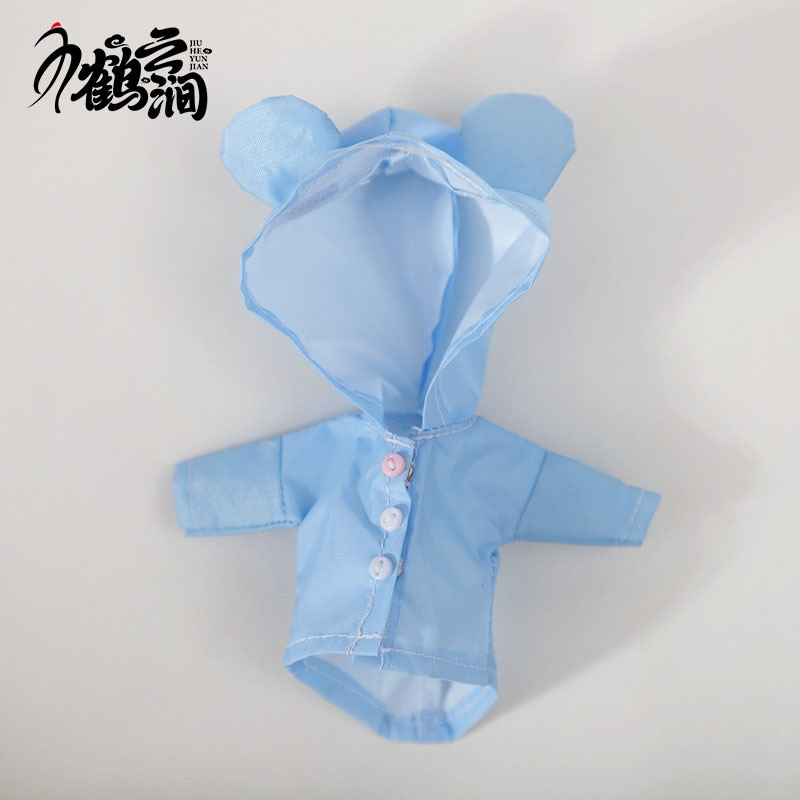 Ob11 baby clothes how to do in rainy days 12 BJD baby clothes GSC body Molly raincoat