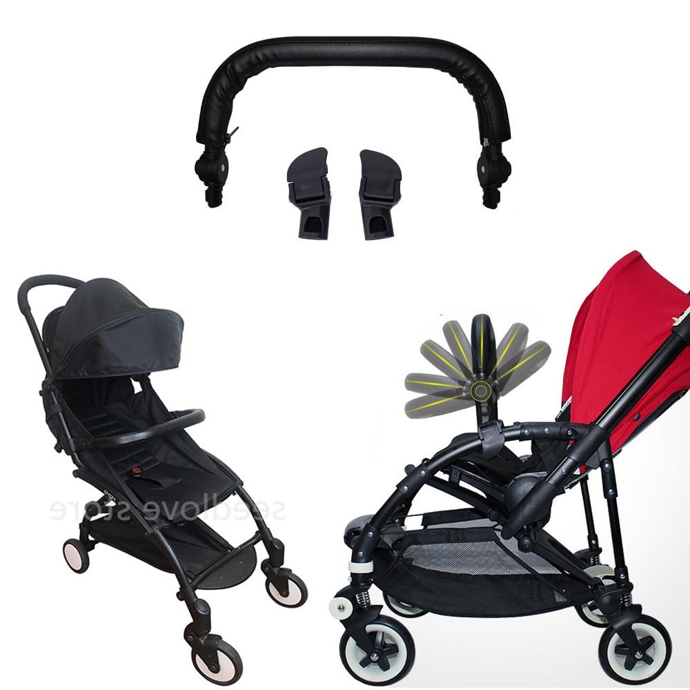 Baby Stroller Armrest Handle Bar for Bugaboo Bee3 Bee5 Safety Bumper Bar for Yoya Yoyo Babyzen Trolley Stroller Accessories
