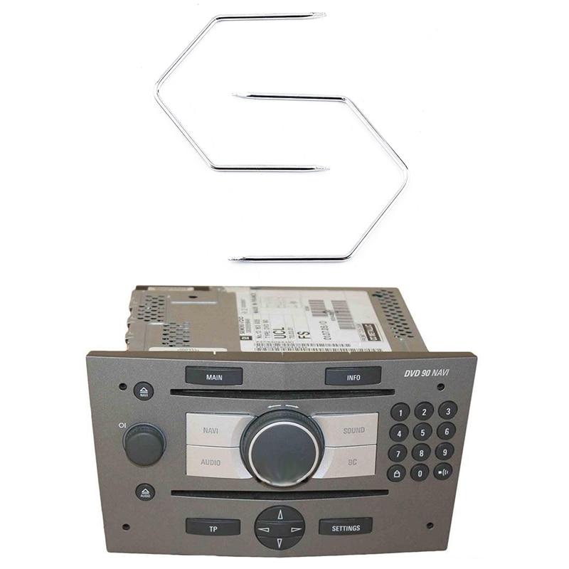 2 шт. автомобильное радио снятие магнитолы выпуск ключи инструменты для извлечения контактов инструмент стерео головное устройство аудио и...