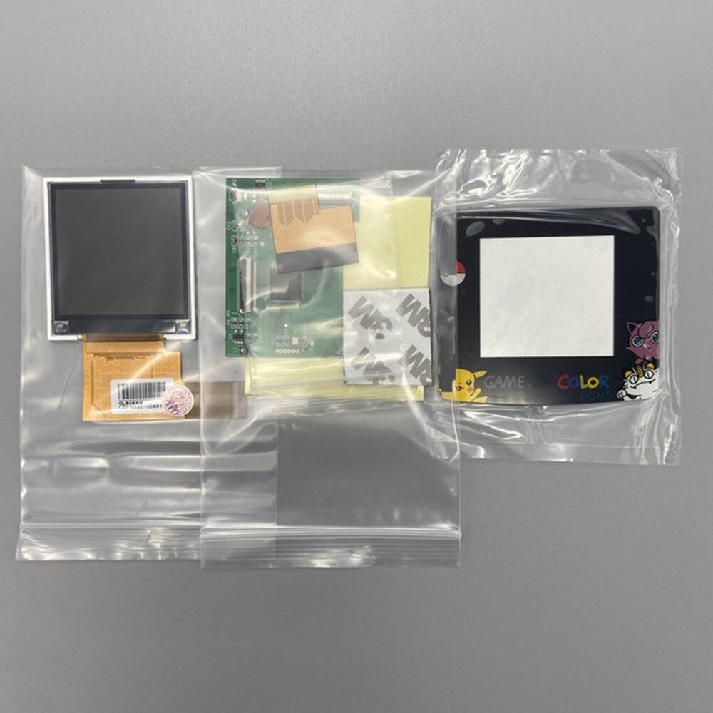 10 مجموعات مجموعة 2.2 بوصة شاشة إل سي دي عالية الإضاءة مجموعة أدوات الشاشة استبدال ل Gameboy اللون ل GBC