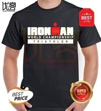 Haut Ironman Triathlon hommes T-Shirt natation cyclisme course Cycle nager fer homme haut T-Shirt