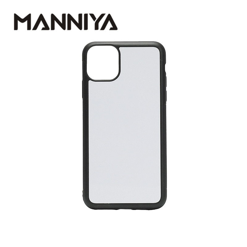 AliExpress - MANNIYA for iphone 11 11 Pro 11 Pro Max Blank Sublimation TPU rubber phone Case with Aluminum inserts 10pcs/lot