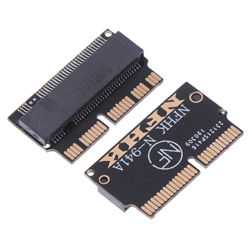 Nuevo 1pc NVMe PCIe M.2 a finales de 2013 de 2014 pro 2015 A1398 A1502 tarjeta adaptadora de SSD