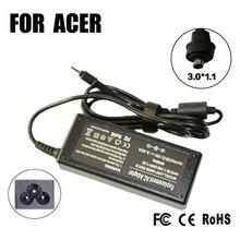 Remplacement 19V 3.42A 3.0*1.1MM 65W pour Acer W700 W700P S3 S5 S7 universel ordinateur portable chargeur secteur adaptateur secteur