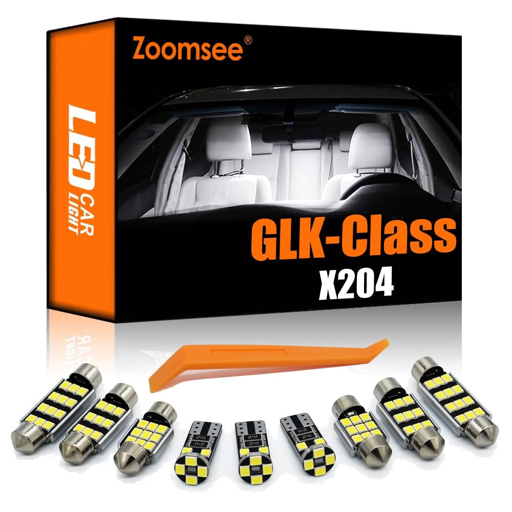 Zoomsee-مجموعة إضاءة Canbus الداخلية ، لمبة LED ، Canbus ، لمرسيدس بنز MB GLK Class X204 2008-2015 GLK220 GLK300 GLK350 ، 17 قطعة