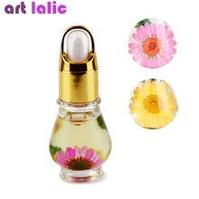 Artlalic 1 Bottle 15mL Dry Dried Flowers Nourishment Oil Nail Cuticle Tools Nutritional Nail Polish Oil UV Gel Nail Treatment